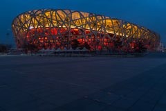 Olympic Stadium in Beijing China Royalty Free Stock Image