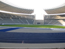 Olympic Stadium, Berlin, Germany. The home of Hertha Berlin football Club and the 1936 Olympics Royalty Free Stock Photography