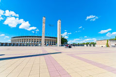 Olympic Stadium in Berlin Royalty Free Stock Photo