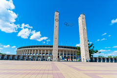 Olympic Stadium in Berlin Royalty Free Stock Images