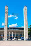 Olympic Stadium in Berlin. A photo of the olympic stadium in Berlin, so called Olympiastadion, built in 1936 to host the Summer Olympics Stock Photography