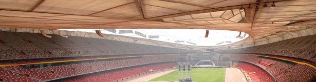 The olympic stadium 2008, Birds nest stock photos