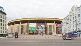 Olympic Stadium building in Moscow Stock Photo