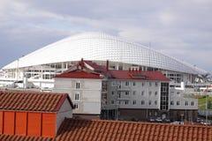 Olympic Stadium Fisht i Adler, Ryssland Fotografering för Bildbyråer
