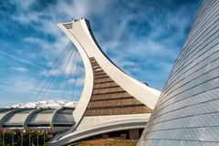 The Olympic Stadium. [7] (French: Stade olympique) is a multi-purpose stadium in Canada, located at Olympic Park in the Hochelaga-Maisonneuve district of Royalty Free Stock Photos