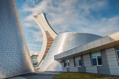 The Olympic Stadium. [7] (French: Stade olympique) is a multi-purpose stadium in Canada, located at Olympic Park in the Hochelaga-Maisonneuve district of Royalty Free Stock Images