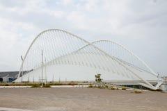 Olympic Stadium i Athens, Grekland Arkivbilder