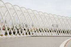 Olympic Stadium i Athens, Grekland Arkivfoto