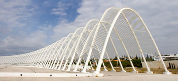 Olympic Stadium i Athens, Grekland Fotografering för Bildbyråer