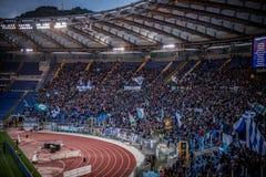 Olympic Stadium i Rome, Italien fotografering för bildbyråer