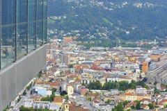 Olympic Stadium in Innsbruck Stock Images