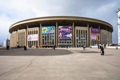 Olympic Stadium inomhus arena i Moskva Arkivfoto