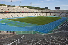 Olympic Stadium Lluis Companys in Barcelona Royalty Free Stock Photography