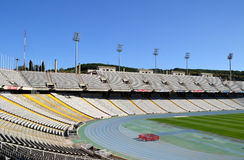 Olympic Stadium Lluis Companys in Barcelona, Spain Stock Image