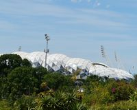 Olympic stadium in Melbourne Royalty Free Stock Image