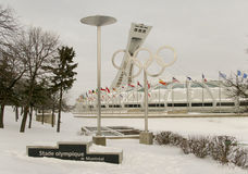 Olympic stadium in Montreal Royalty Free Stock Photography