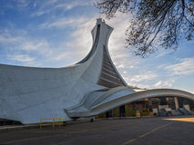 Olympic Stadium (Montreal) Stock Images