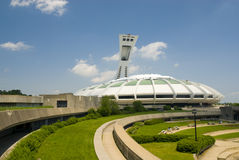 Olympic Stadium, Montreal. The impressive Olympic Stadium, Montreal, Canada Royalty Free Stock Photography
