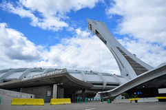 Olympic Stadium at Montreal Stock Images