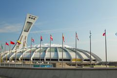 Olympic stadium Royalty Free Stock Photo