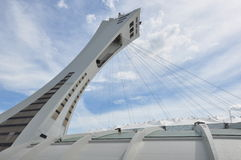 Olympic Stadium in Montreal, Canada Stock Image