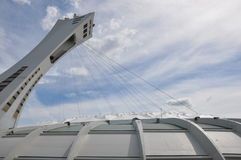 Olympic Stadium in Montreal, Canada Stock Photos