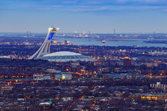 Olympic Stadium in Montreal Stock Photography