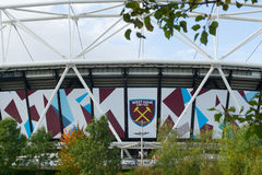 Olympic Stadium now West Ham United home statium Stock Photography