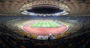 Olympic stadium (NSC Olimpiysky) in Kyiv Royalty Free Stock Photography