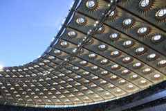 Olympic stadium (NSC Olimpiysky) in Kyiv Stock Photo
