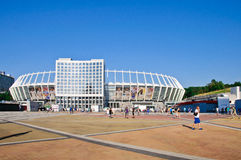 Olympic stadium (NSC Olimpiysky) Kyiv Royalty Free Stock Images