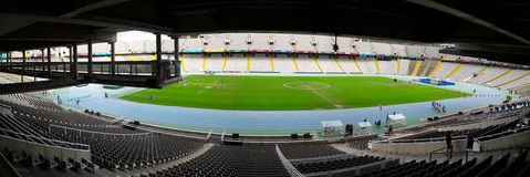 Olympic Stadium panorama Royalty Free Stock Photos