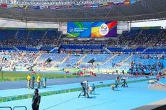Olympic Stadium in Rio de Janeiro during Rio2016 Stock Images