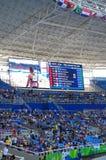Olympic Stadium in Rio de Janeiro during Rio2016 Stock Photo