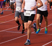Olympic Stadium Running Event Royalty Free Stock Photo