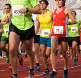 Olympic Stadium Running Event Royalty Free Stock Image
