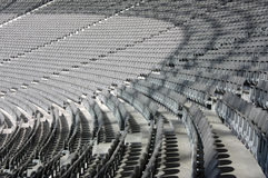 Olympic Stadium Seating. In Berlin Stock Photo