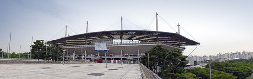 Olympic stadium in Seoul Stock Photos