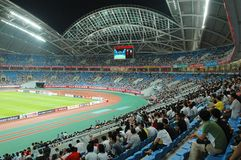 Olympic stadium, Shenyang Royalty Free Stock Photo