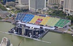 Olympic stadium in Singapore Stock Photo
