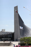 Olympic stadium, Tokyo, Japan. Build for the 1964 olympics stock photography
