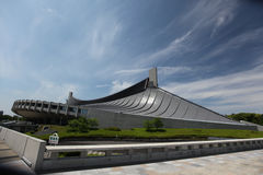Olympic stadium, Tokyo, Japan. Build for the 1964 olympics Stock Image