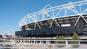 Olympic Stadium under construction, London. Royalty Free Stock Image
