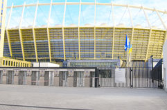 The Olympic Stadium Under Construction For The UEFA EURO 2012 Stock Image