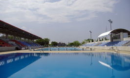 Olympic Swimming and diving Pool Royalty Free Stock Image
