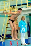 Olympic swimming champion Alexander Popov Royalty Free Stock Image