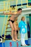 Olympic swimming champion Alexander Popov Royalty Free Stock Image