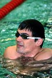 Olympic swimming champion Alexander Popov Stock Photo