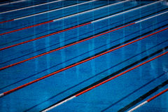 Olympic swimming pool Stock Photography