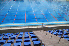 Olympic swimming pool Royalty Free Stock Photo